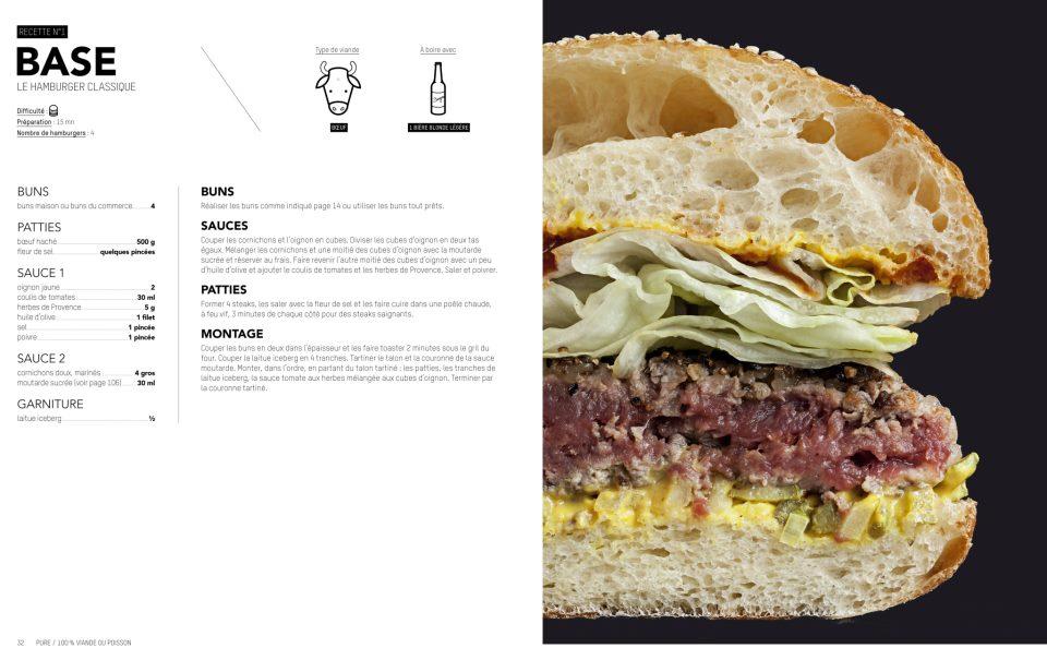 Recette du Burger Base par Blend