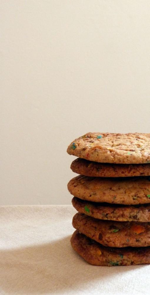 Cookie aux MandMs
