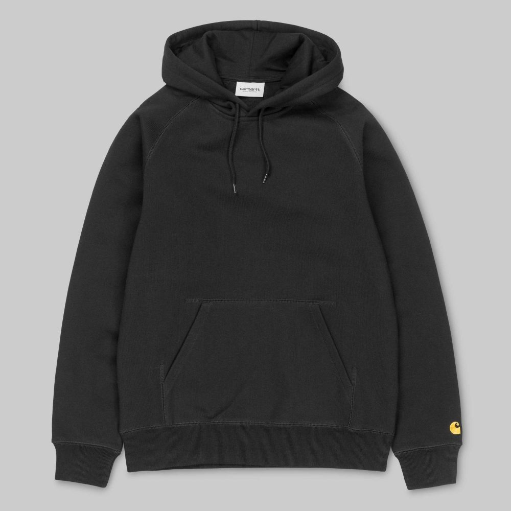 sweat-a-capuche-carhartt-hooded-chase-noir